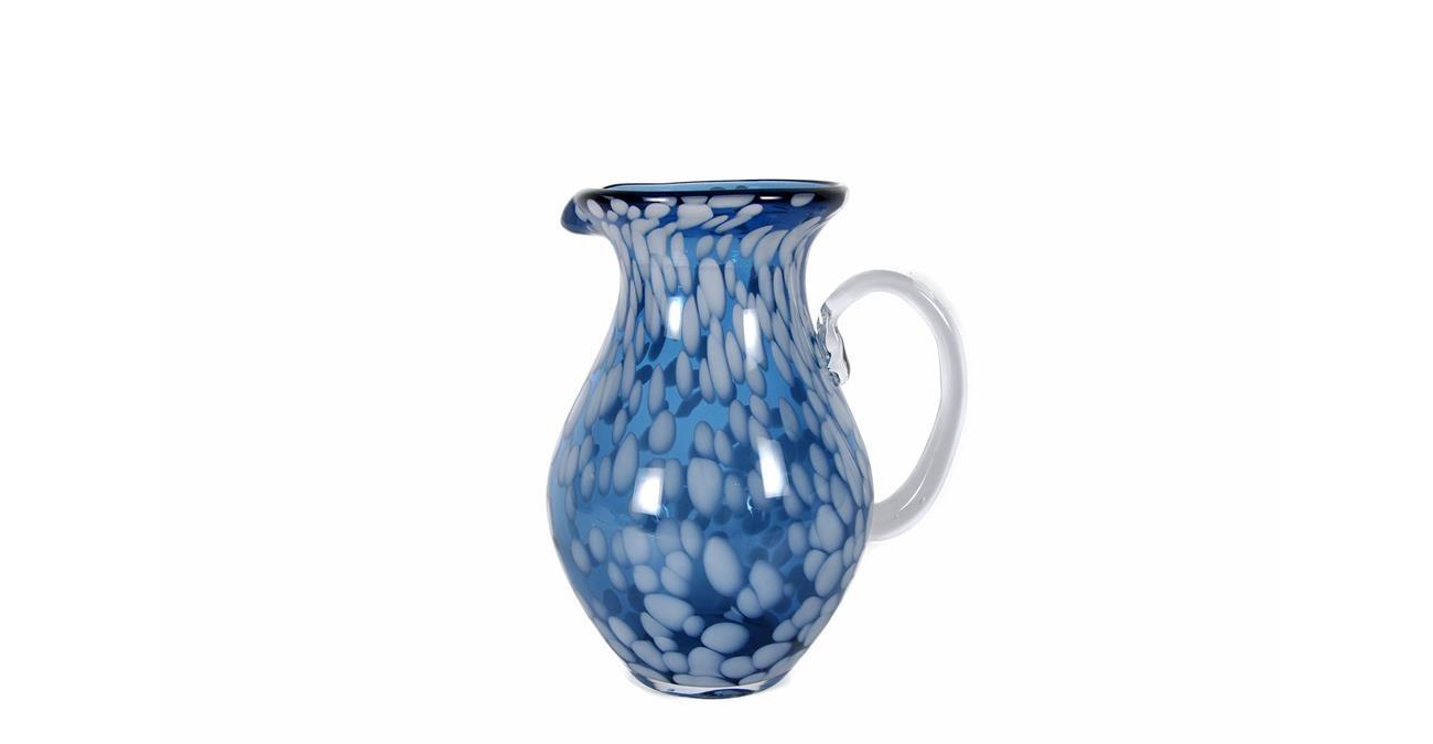Coupe Pitcher Glass 23.5 cm Blue  data-src=