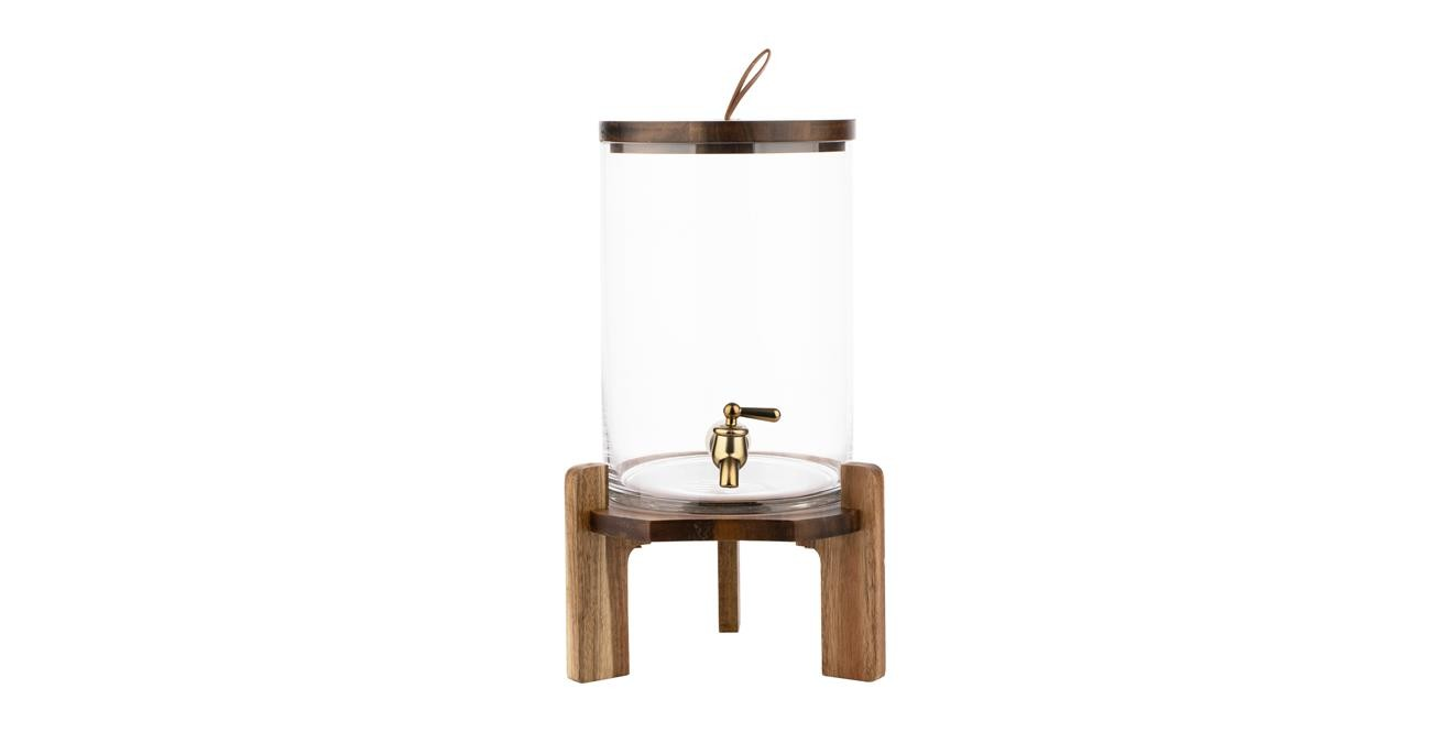 Sole Dispenser With Stand Brown  data-src=