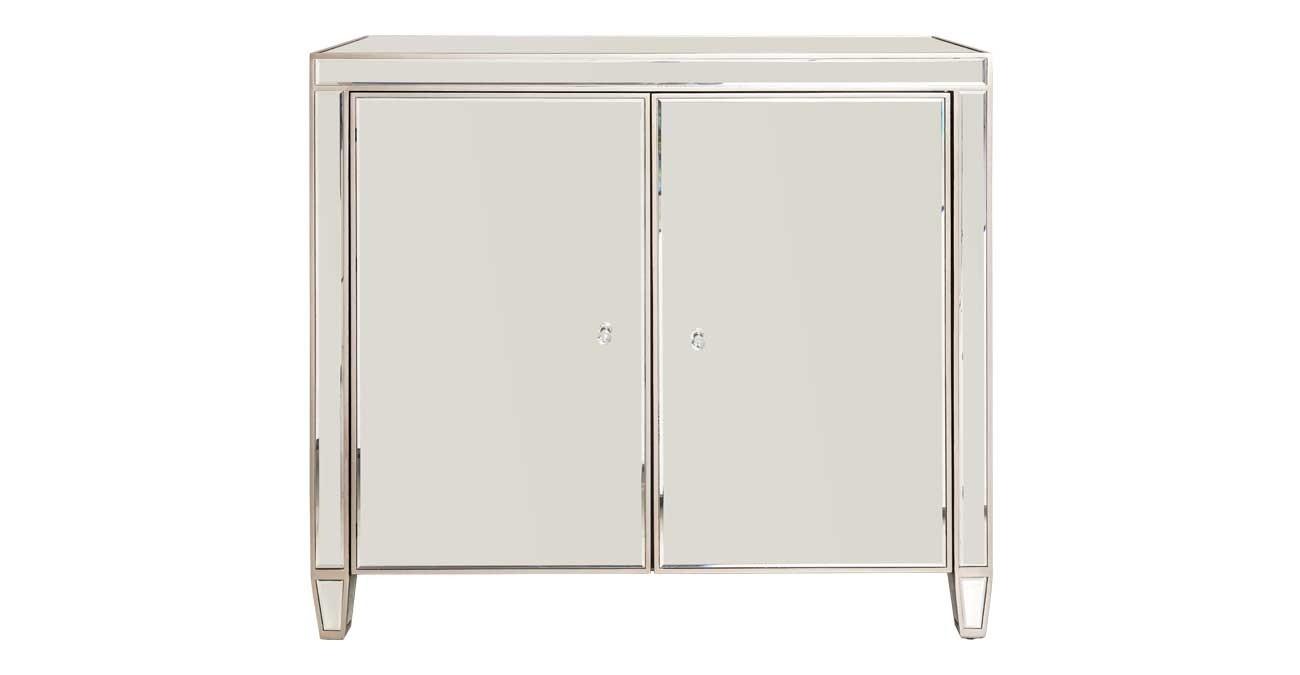 Fiyona Bar Cabinet - Silver  data-src=