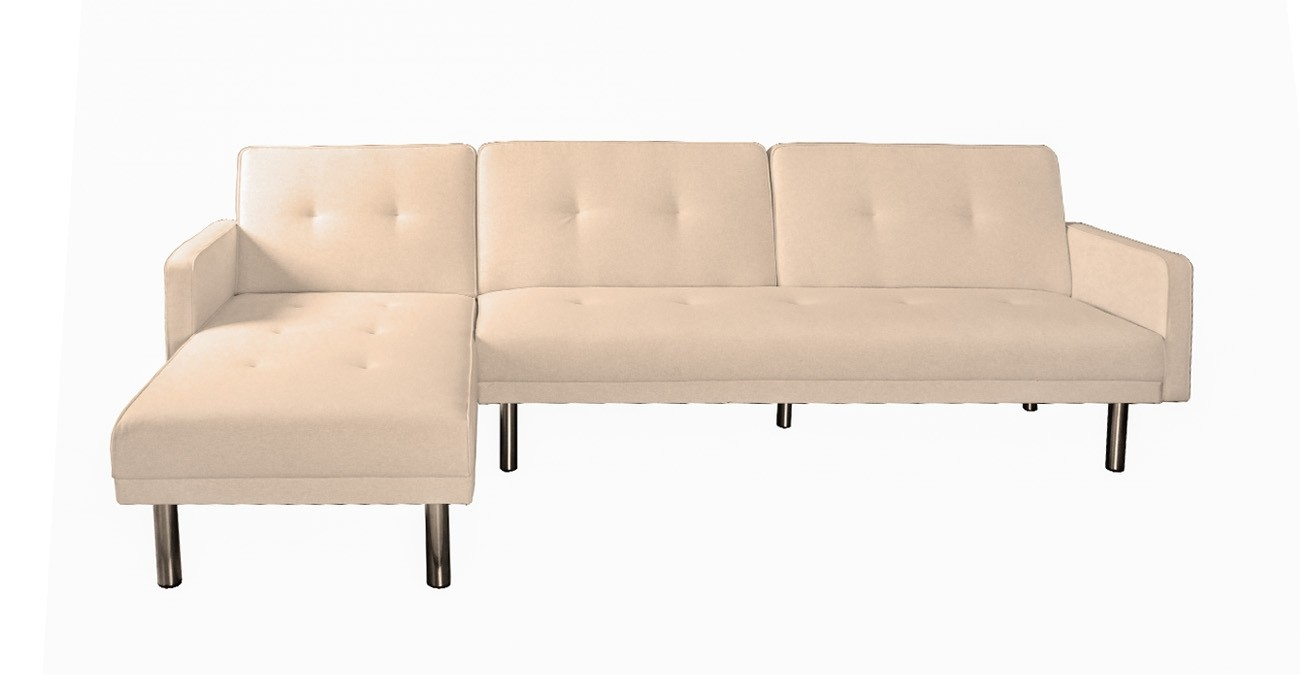 Clayton Beige Corner Sofa  data-src=