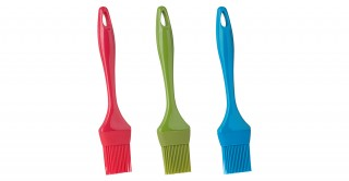 """Trudeau Silicone Pastry/BBQ Brush 9""""  (Assorted Color)"""