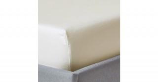 250Tc Plain Ivory 150X200 Fitted Sheet