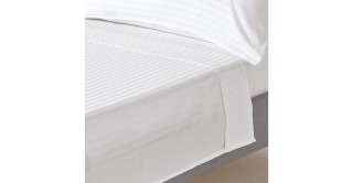 The White Collection White 274X280 Flat Sheet