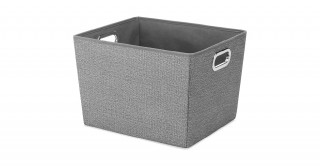 Crosshatch Gray Small Tote