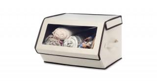 Stackable Window Box W/Brown Trim