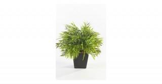 Bamboo Mix Plastic 25Cm In Zinc Pot 10Cm