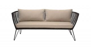 Ajit Black Sofa