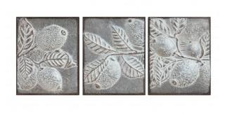 Agni Wall Decoration Set of 3