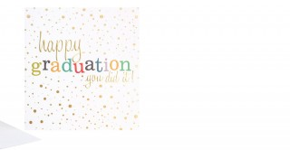Gift Card- Happy Graduation