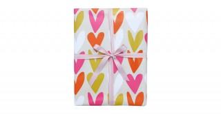 Roll Wrap - Hearts Multi