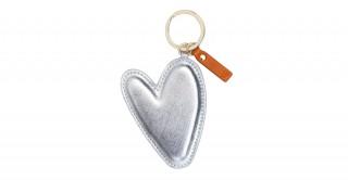 Large Heart Keyring