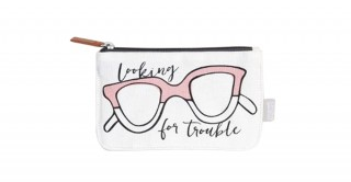 Looking For Trouble Glasses Case