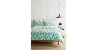 Honey Comb Printed Duvet Cover Set, 135x200cm