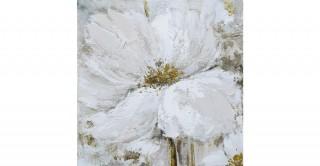 Peru Oil Canvas White