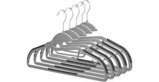 Easy Slide Sure-Grip Hangers Set Of 5