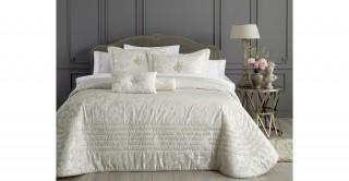 Carolyn 4Pc Comforter Set Cream 260 x 270