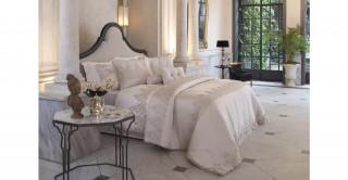 Linzy 5Pc Bridal Comforter Set Beige 260 x 270