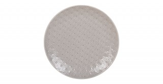 Del Rio Dinner Plate 26Cm Light Grey