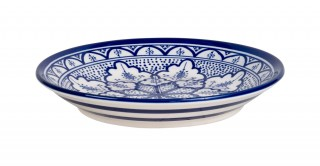 Fall Salad Plate 21Cm Blue
