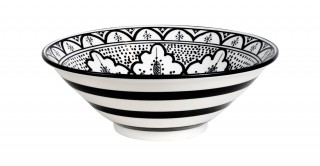 Fall Salad Bowl 28Cm Black