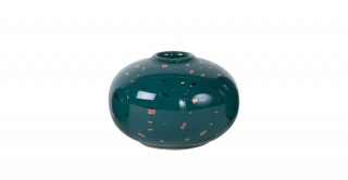 Nuba Vase Green 13Cm