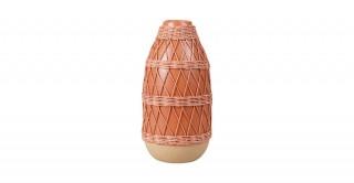 Gord Vase Red 38Cm