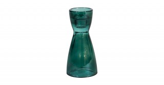 Oslo Candle Holders Green 16Cm