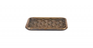 Prestige Decorative Tray Gold 16 cm