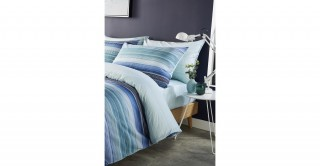 Stripe 260x240 Printed Duvet Cover Set