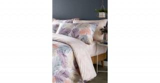 Palm 200x135 Printed Duvet Cover Set