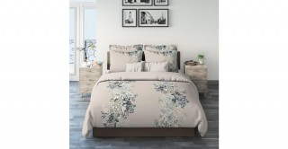 Paisley Floral 200X200 Printed Comforter Set