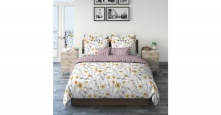 Stunning Flower 220X240 Printed Duvet Cover Set