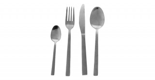 Rishi 24-Piece Stainless Cutlery Set