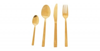 Aster 24-Piece Stainless Cutlery Set
