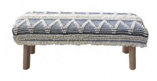 Corvus 120X40 Wool Bench