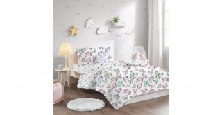 Butterfly Kids Comforter Set, 180x230cm