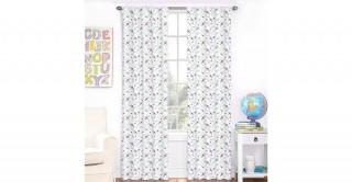 Butterfly 2Pc Curtain 140X240 Purple