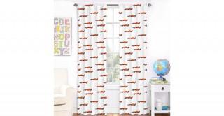 Car print Curtain 140X240 2Pc