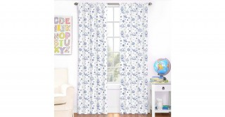 Space 2Pc Curtain 140X240 Navy Blue