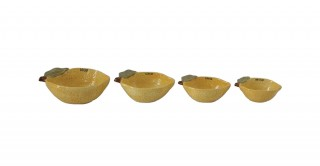 Lemon Measuring  Cups, Set of 4