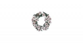 Olsen Tole Metal Flower Wreath
