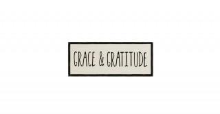 "Cayla ""Grace & Gratitude"" Wall Decoration"