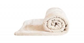 Soft 2-Ply Blanket Ivory 160X220Cm 3.5Kg