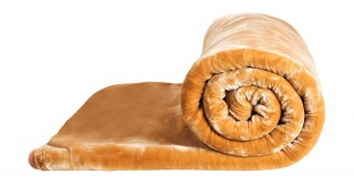 Soft 2-Ply Blanket Beige 210X240Cm 6Kg
