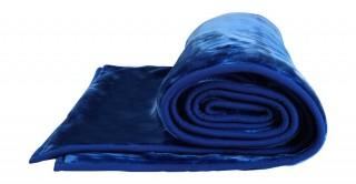 Soft 2-Ply Blanket Blue 210X240Cm 6Kg