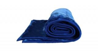 Soft 2-Ply Blanket Blue 160X220Cm 3.5Kg