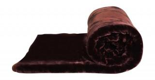 Soft 2-Ply Blanket Brown 210X240Cm 6Kg