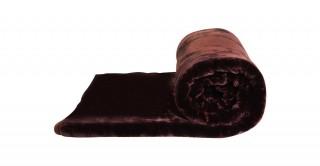 Soft 2-Ply Blanket Brown 160X220Cm 3.5Kg