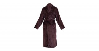 Soft Fleece Bed Robe Brown Extra Large
