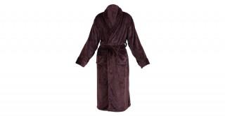 Soft Fleece Bed Robe Brown Double Xl